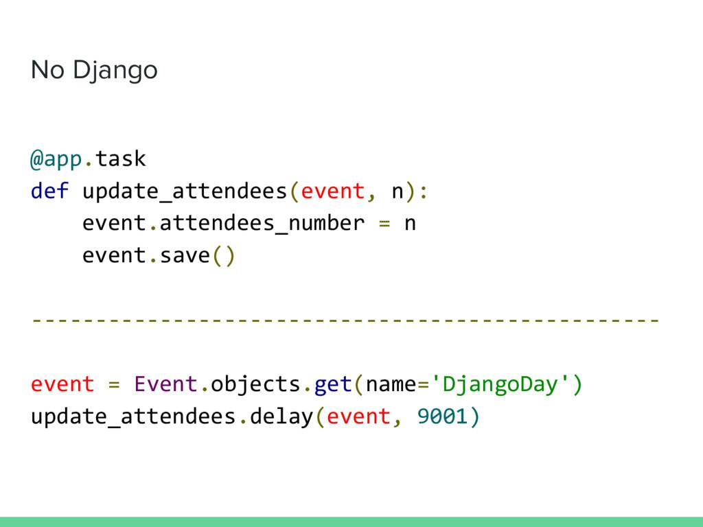 No Django @app.task def update_attendees(event,...