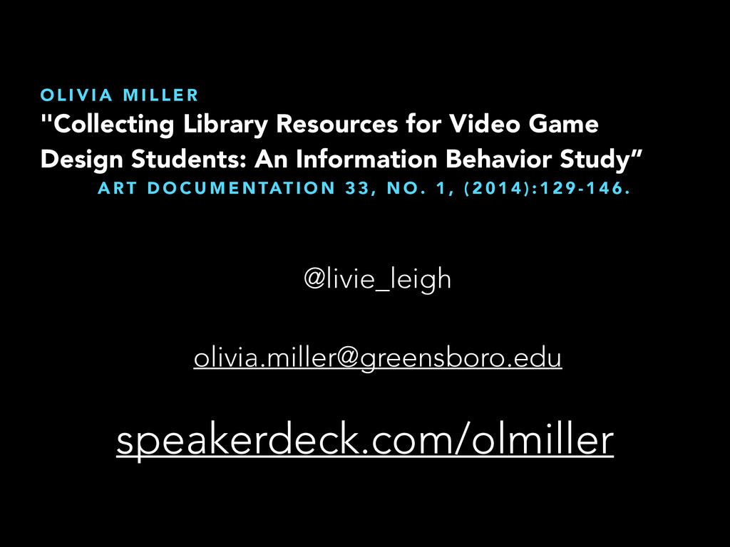 """""""Collecting Library Resources for Video Game De..."""