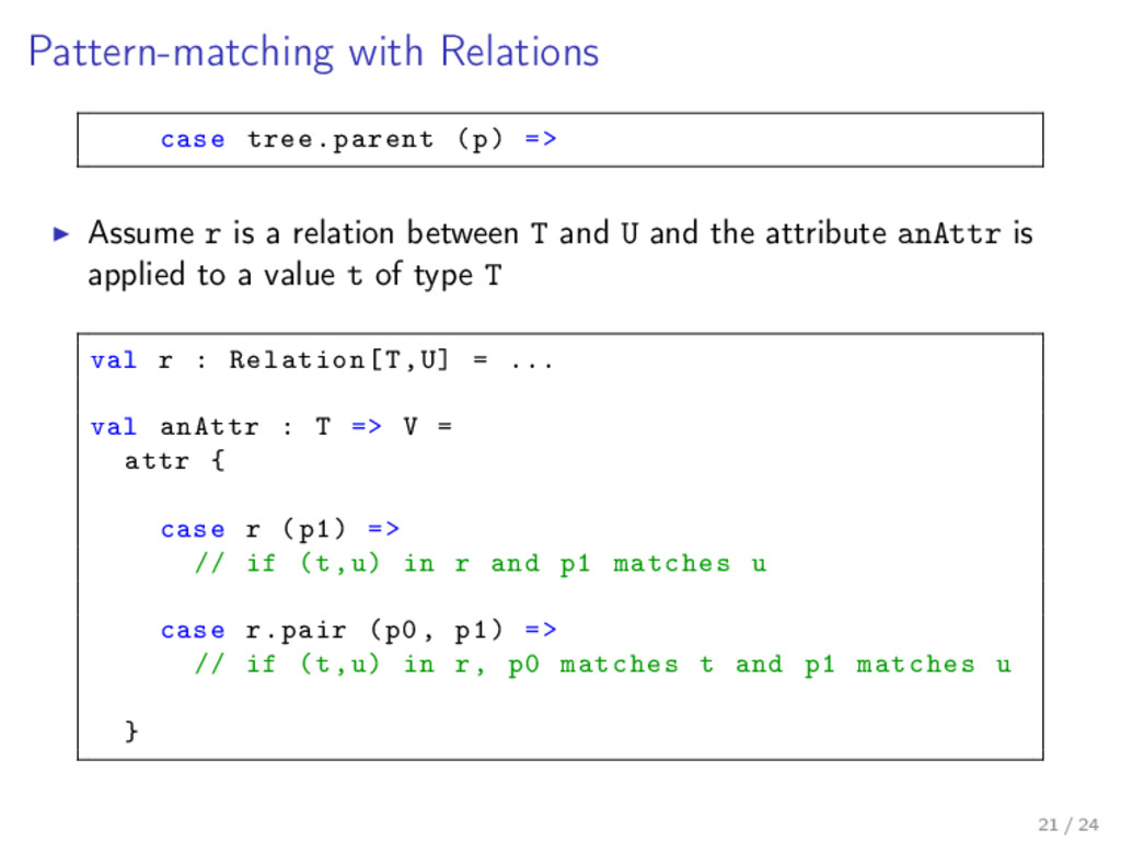 Pattern-matching with Relations case tree.paren...