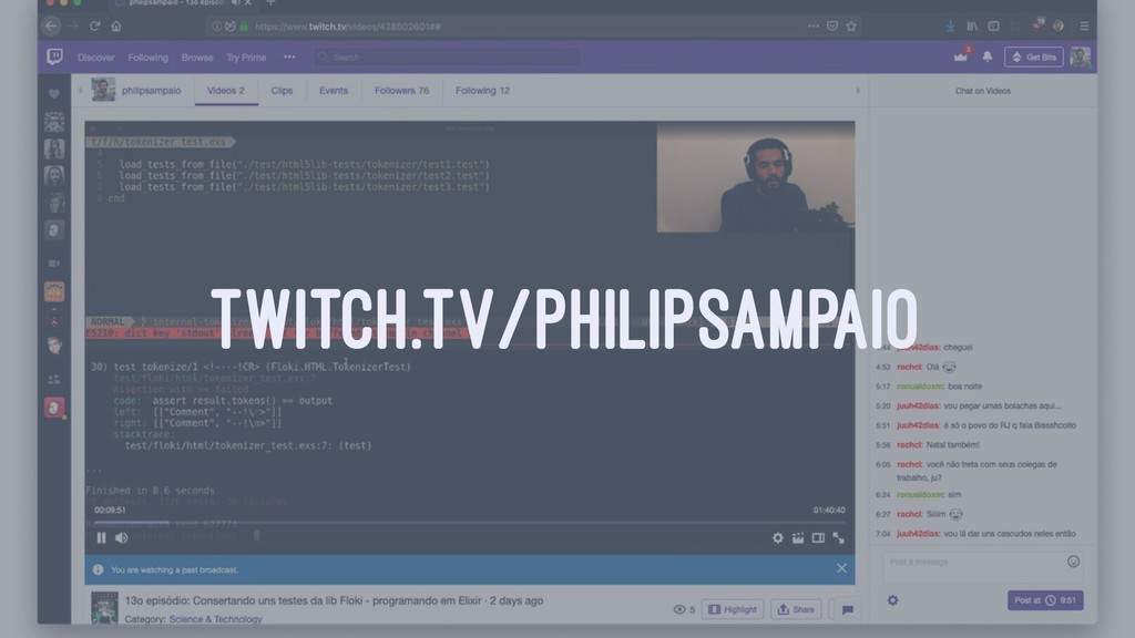 TWITCH.TV/PHILIPSAMPAIO
