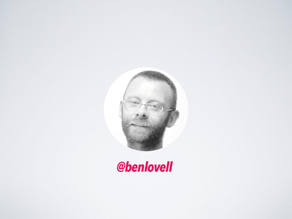 @benlovell