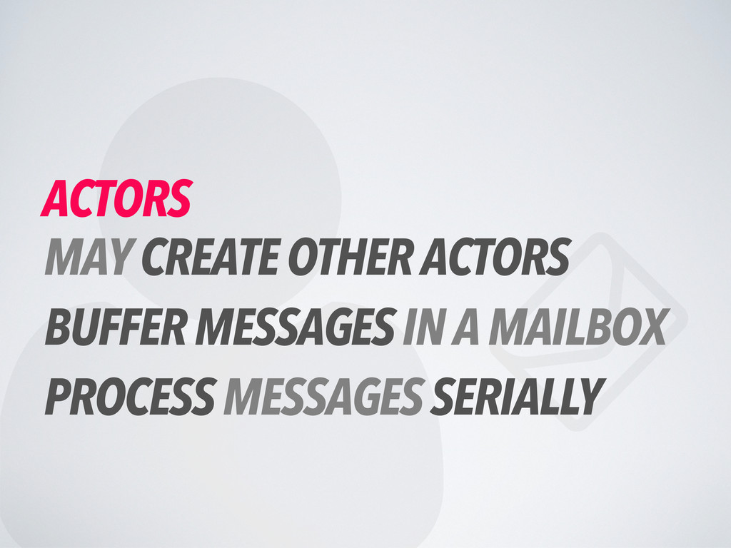   ACTORS MAY CREATE OTHER ACTORS BUFFER MESSA...