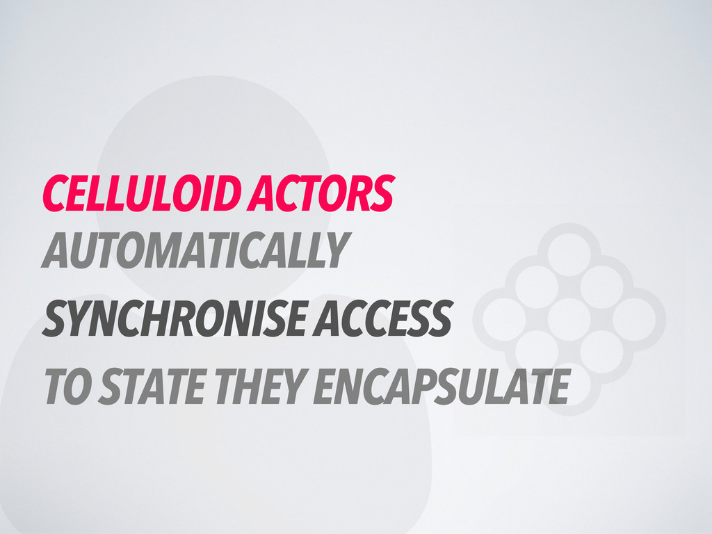 CELLULOID ACTORS AUTOMATICALLY SYNCHRONISE AC...