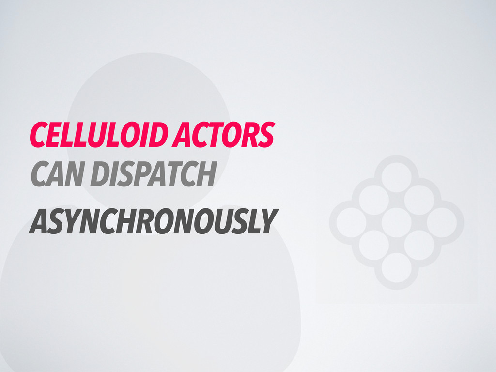  CELLULOID ACTORS CAN DISPATCH ASYNCHRONOUSLY