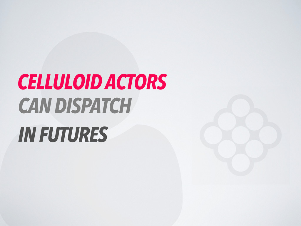  CELLULOID ACTORS CAN DISPATCH IN FUTURES