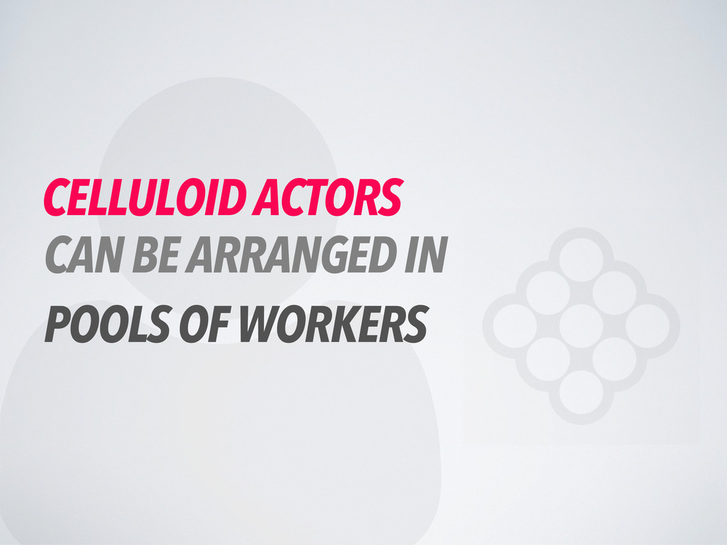  CELLULOID ACTORS CAN BE ARRANGED IN POOLS OF ...