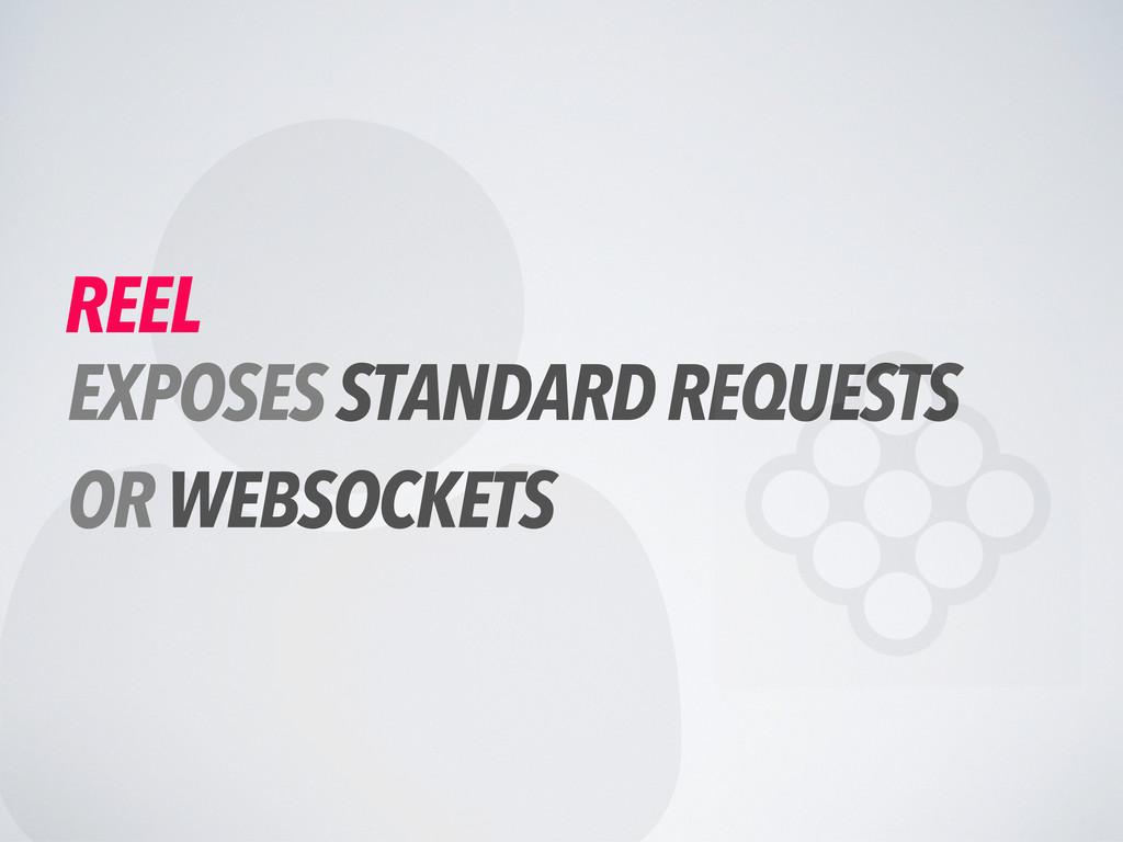  REEL EXPOSES STANDARD REQUESTS OR WEBSOCKETS