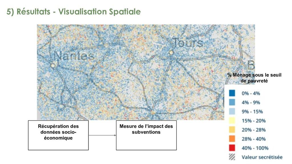 5) Résultats - Visualisation Spatiale Récupérat...