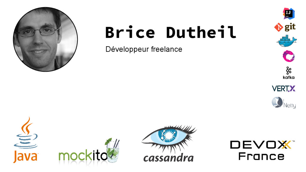 Brice Dutheil Développeur freelance
