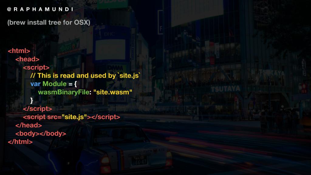 @ R A P H A M U N D I <html> <head> <script> //...