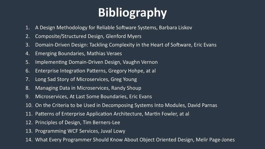 Bibliography 1. A Design Methodology for Reliab...