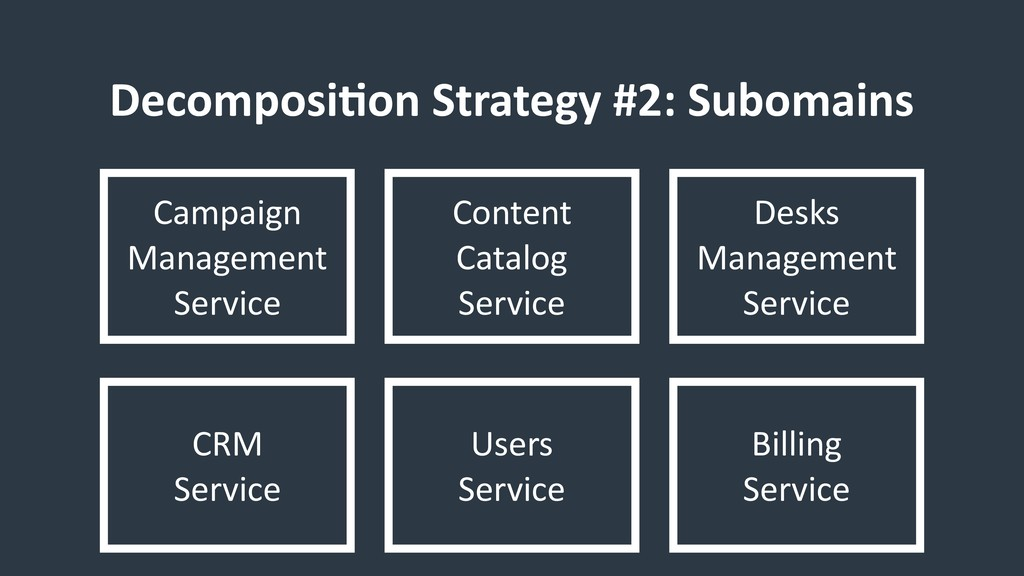 DecomposiCon Strategy #2: Subomains Campaign Ma...