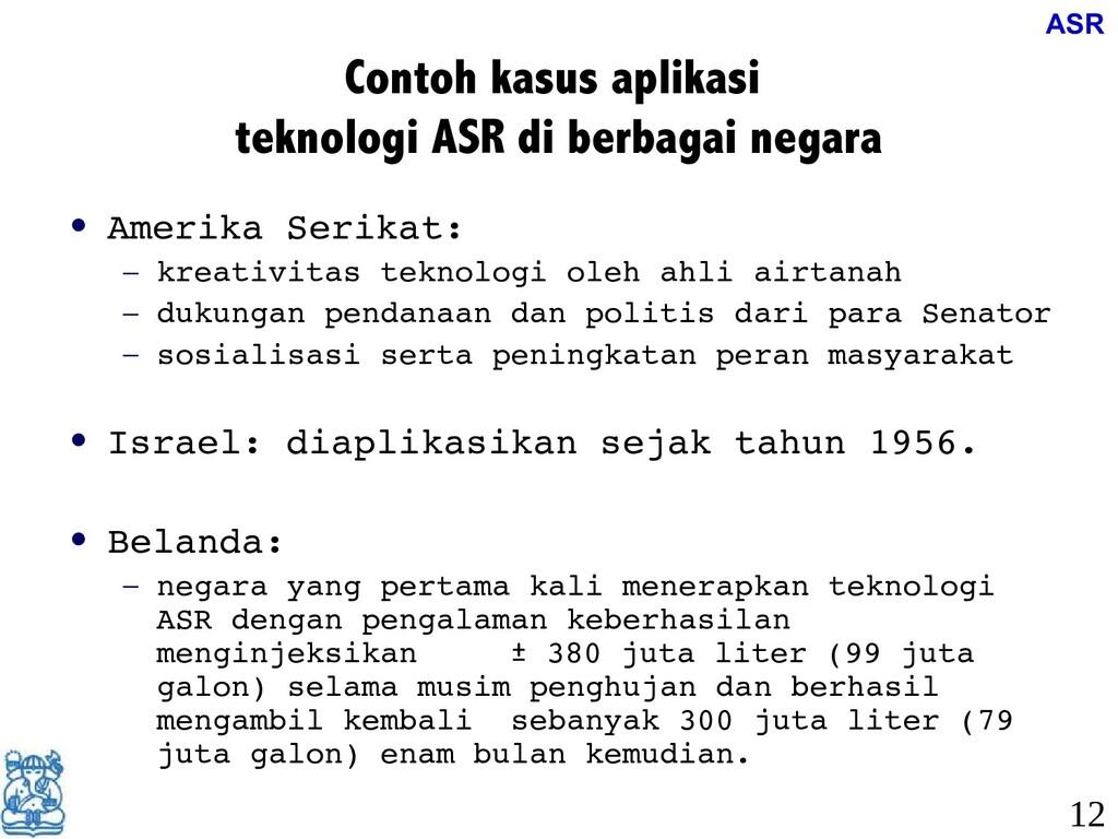 Contoh kasus aplikasi teknologi ASR di berbagai...