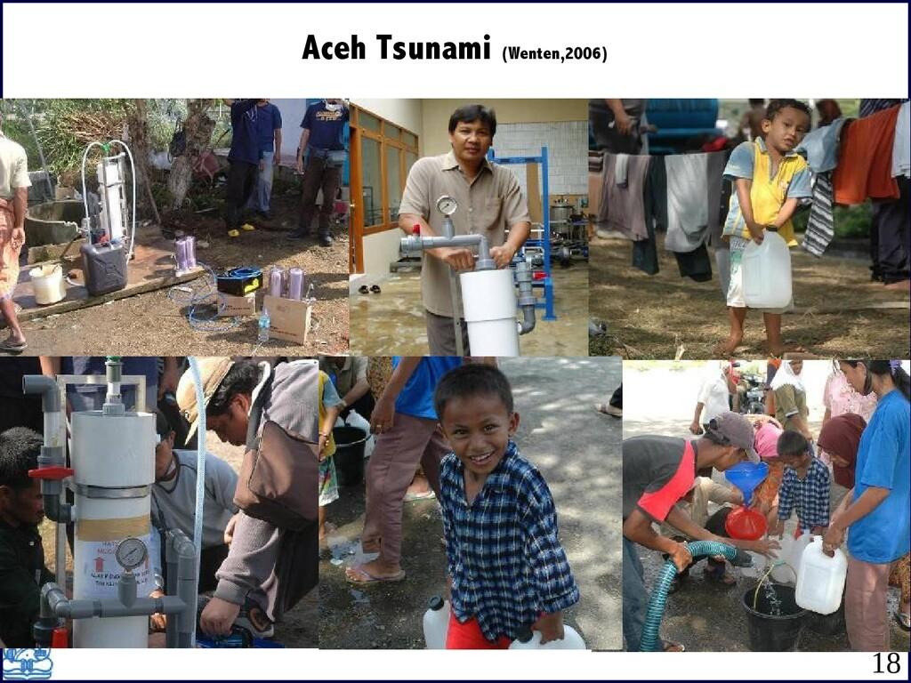 Aceh Tsunami (Wenten,2006) 18