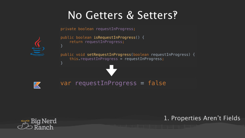 No Getters & Setters‽ public abstract class RxF...