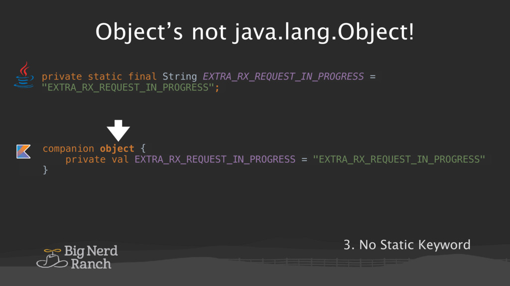 Object's not java.lang.Object! private static f...