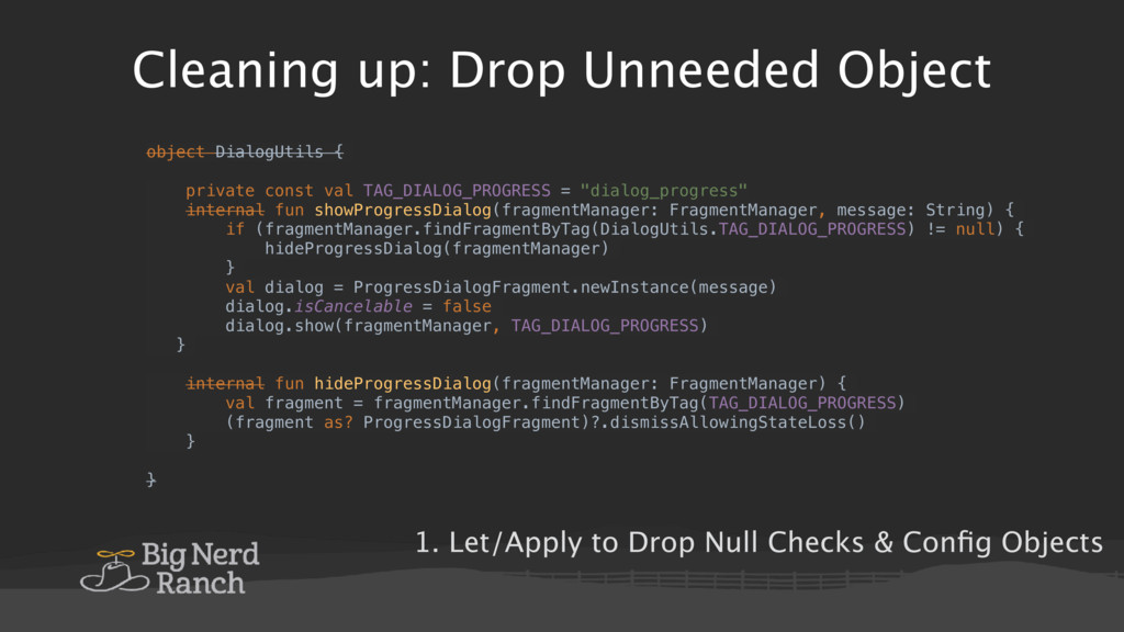 Cleaning up: Drop Unneeded Object object Dialog...