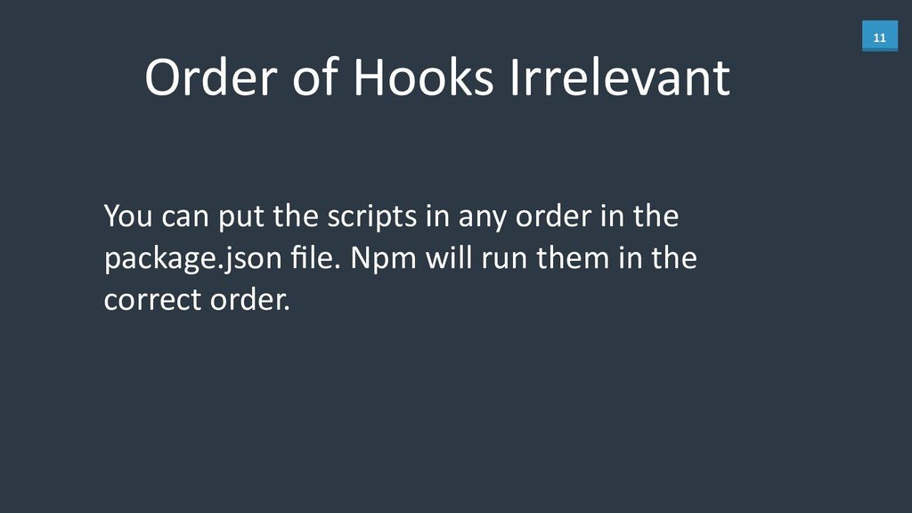 11 Order	
