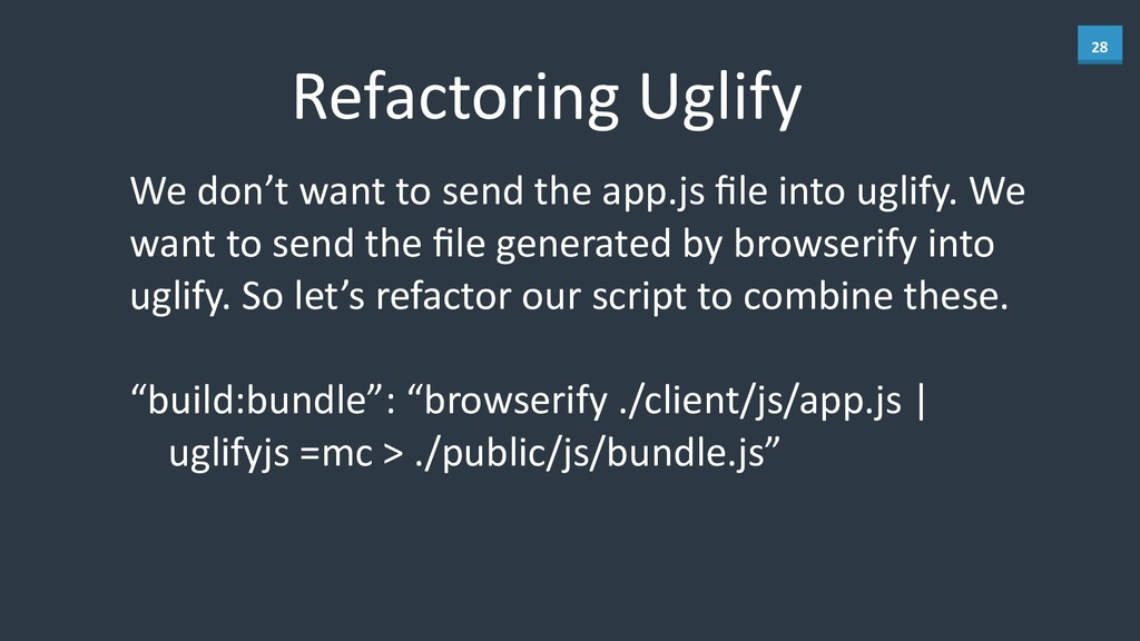 28 Refactoring	
