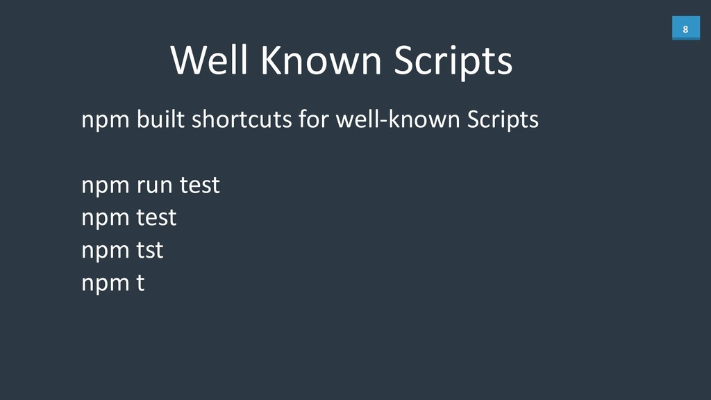8 Well	