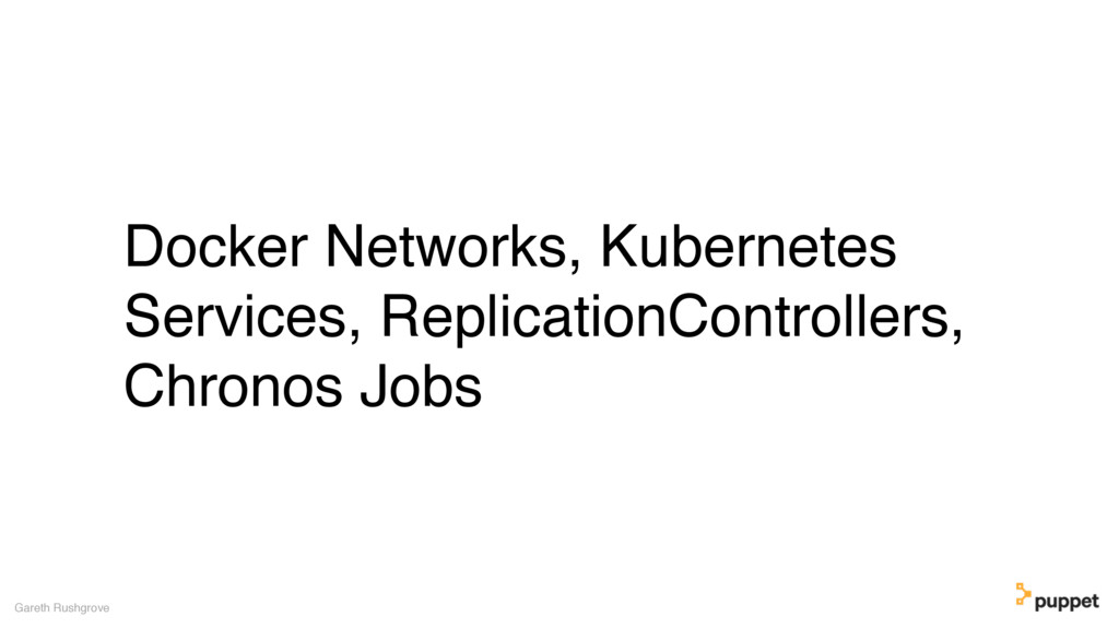 (without introducing more risk) Docker Networks...