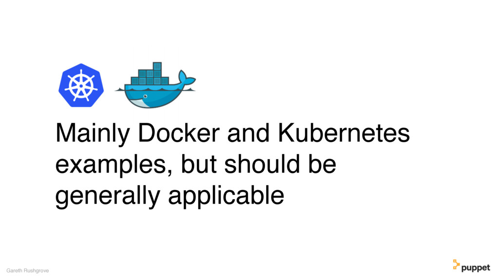 (without introducing more risk) Mainly Docker a...