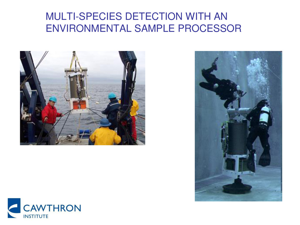MULTI-SPECIES DETECTION WITH AN ENVIRONMENTAL S...