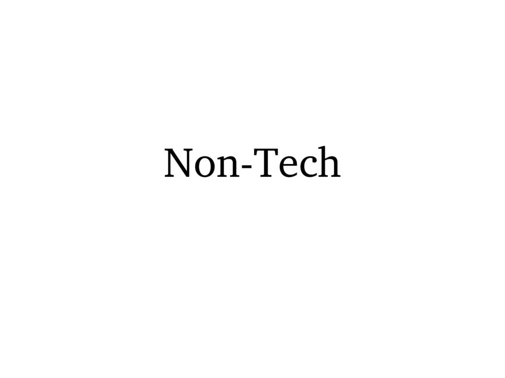 NonTech