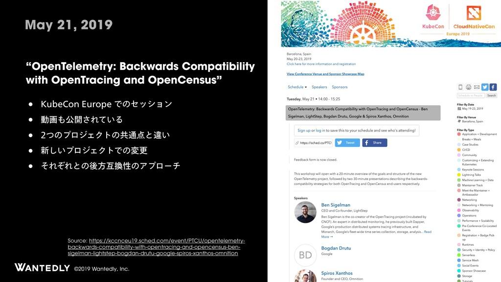 """©2019 Wantedly, Inc. """"OpenTelemetry: Backwards ..."""