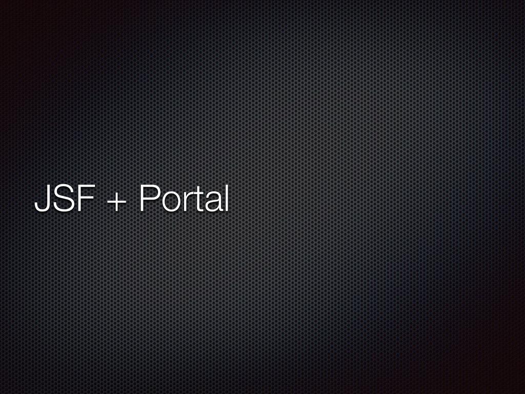 JSF + Portal
