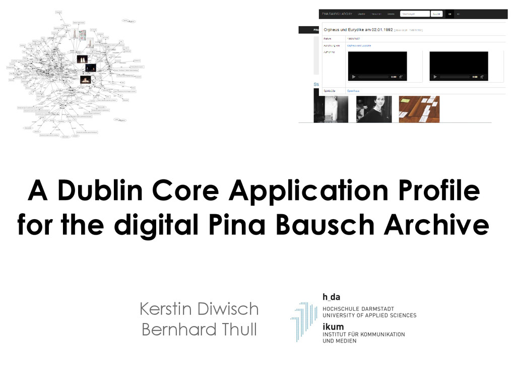 A Dublin Core Application Profile for the digit...