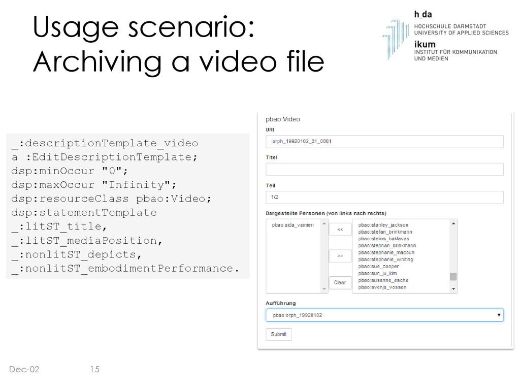 Usage scenario: Archiving a video file Dec-02 _...