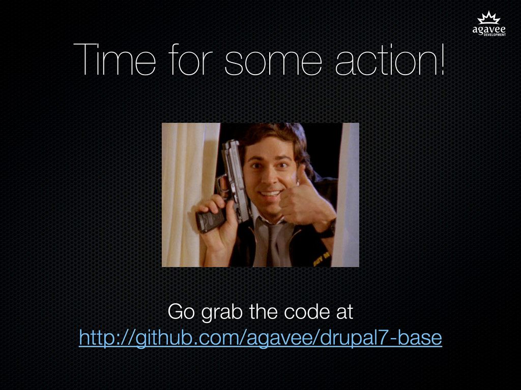 Time for some action! Go grab the code at http:...
