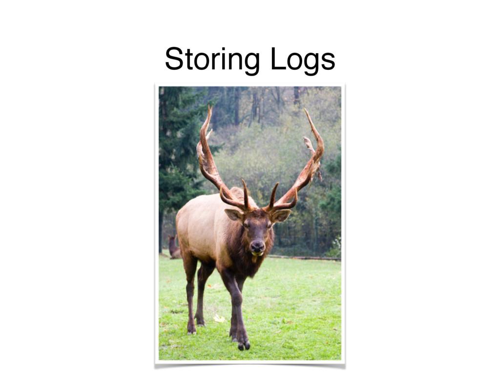 Storing Logs