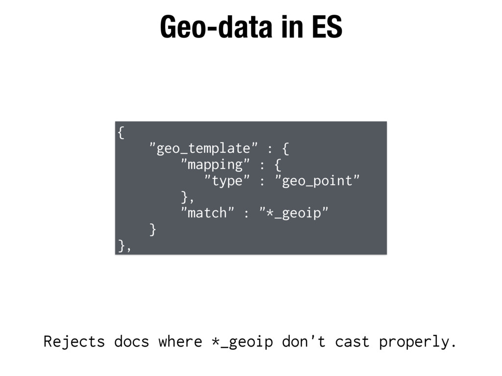 "Geo-data in ES { ""geo_template"" : { ""mapping"" :..."