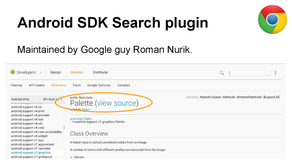 Android SDK Search plugin Maintained by Google ...