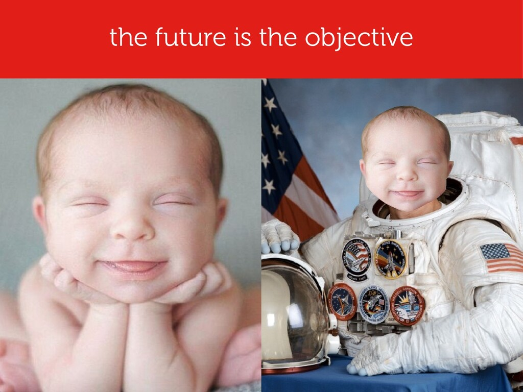 the future is the objective