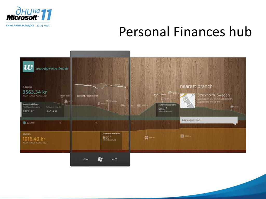 Personal Finances hub
