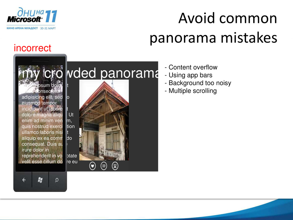 Avoid common panorama mistakes my crowded panor...