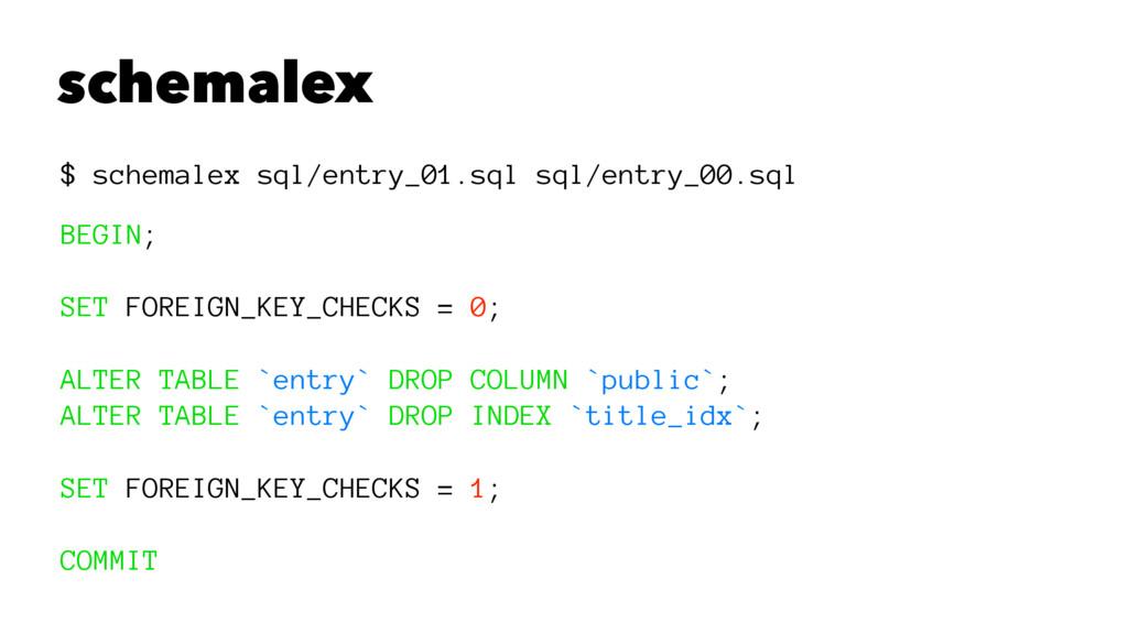 schemalex $ schemalex sql/entry_01.sql sql/entr...