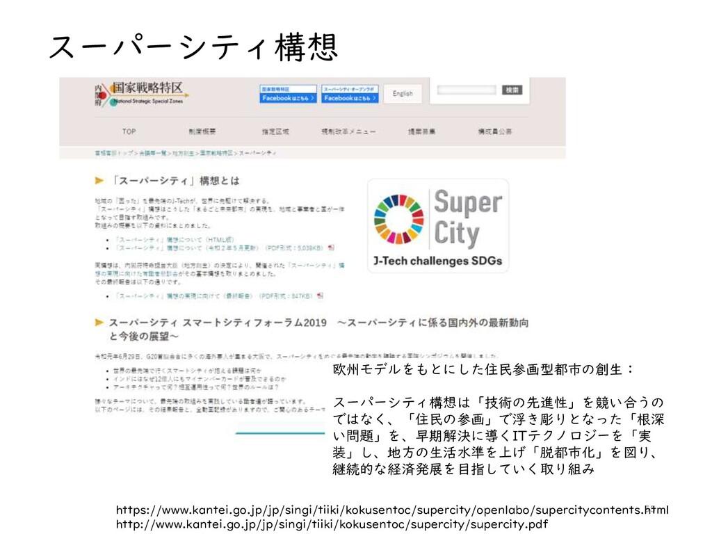 スーパーシティ構想 55 https://www.kantei.go.jp/jp/singi/...