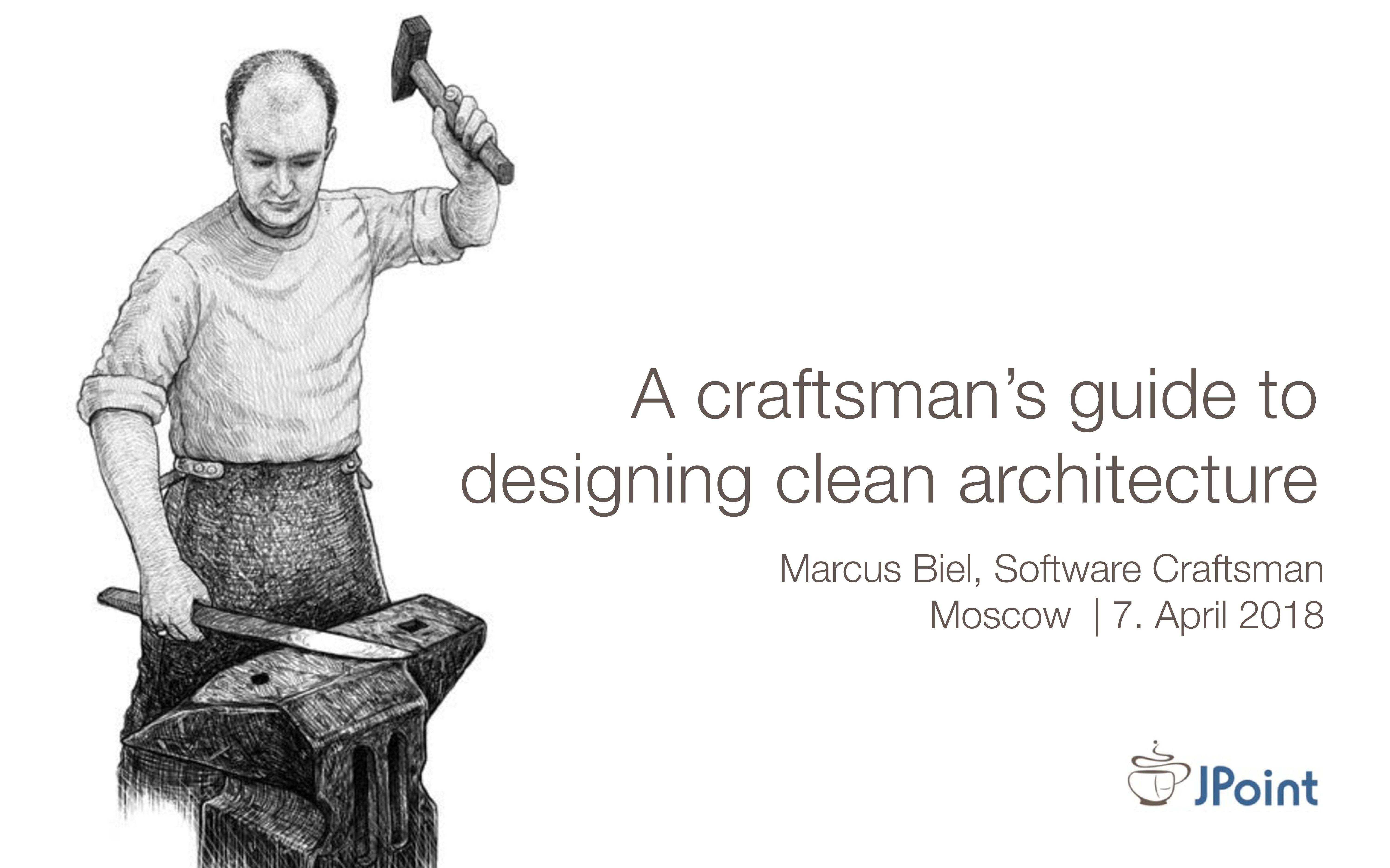 Marcus Biel, Software Craftsman Moscow | 7. Apr...