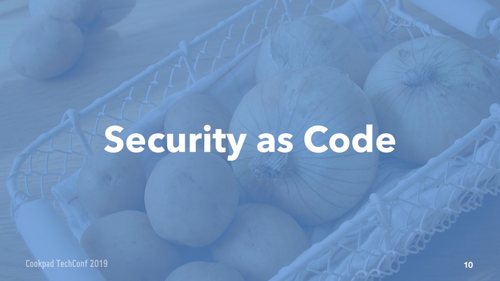 Security as Code 10