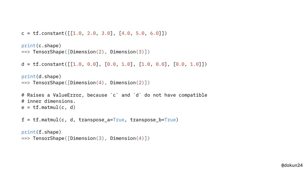 @dokun24 c = tf.constant([[1.0, 2.0, 3.0], [4.0...