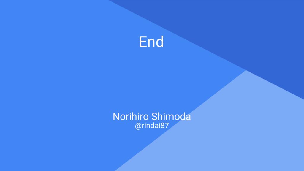Proprietary + Confidential End Norihiro Shimoda...