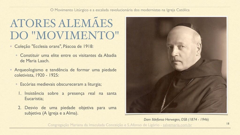 """• Coleção """"Ecclesia orans"""", Páscoa de 1918: • C..."""