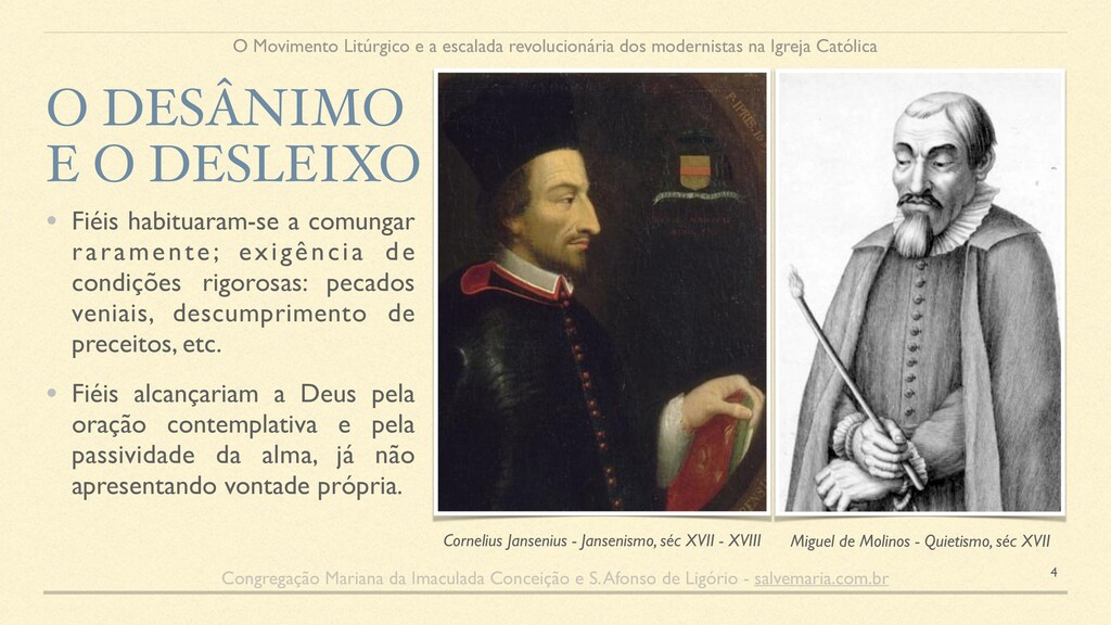 Cornelius Jansenius - Jansenismo, séc XVII - XV...