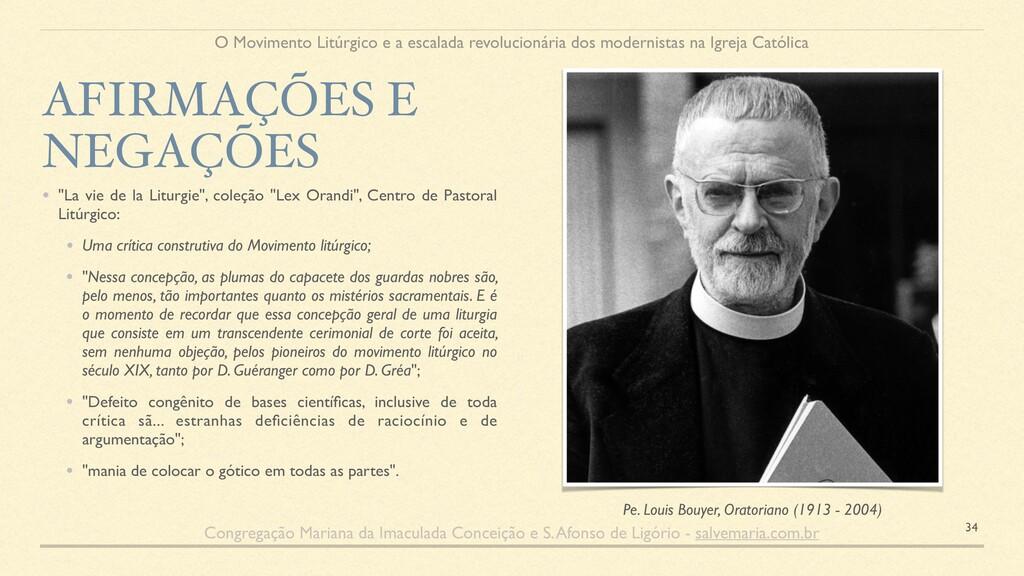 "• ""La vie de la Liturgie"", coleção ""Lex Orandi""..."