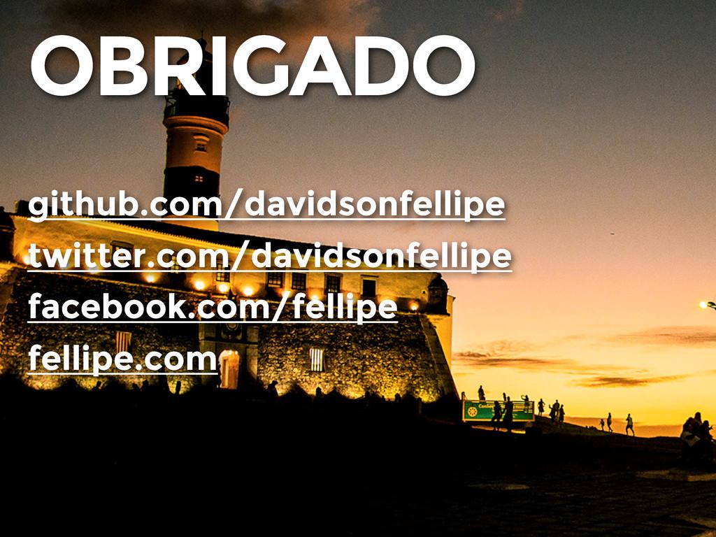 OBRIGADO github.com/davidsonfellipe twitter.com...