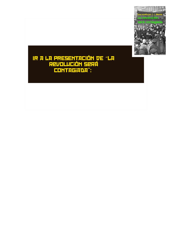 """IR A LA PRESENTACIÓN DE La """" revolución será co..."""